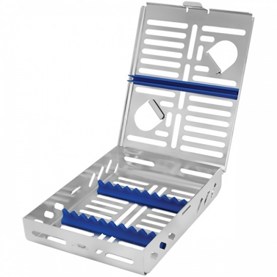 1/2 DIN cassette / tray for 10 Instruments